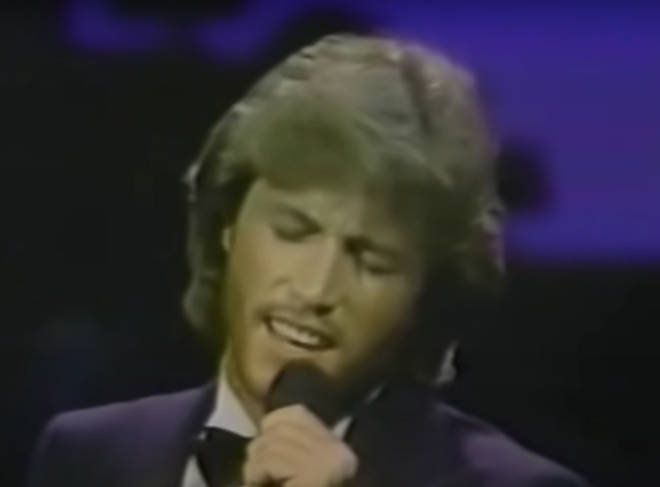 The youngest Gibb is the spitting image of older brother Barry in the video and even replicates the Bee Gees star's impressive vibrato and falsetto vocal registers, while giving the song a twist all of his own.