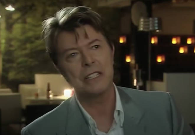 David Bowie explained how he 'gave' professional funnyman, Ricky Gervais, many of his jokes.