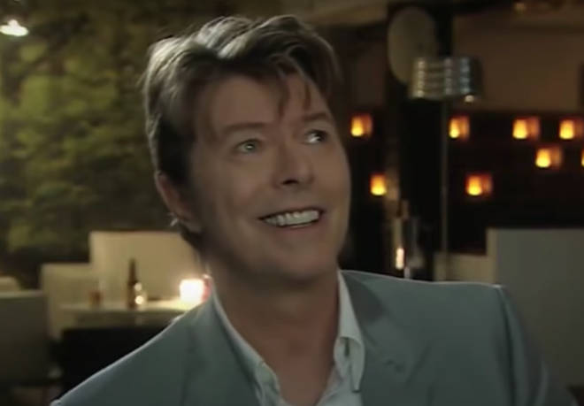 David Bowie laughed at his own jokes in the tongue-in-cheek interview
