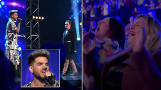 Adam Lambert was a judge on The X Factor Australia in 2016 when he surprised a fan on stage with a duet of 'I Want To Break Free'