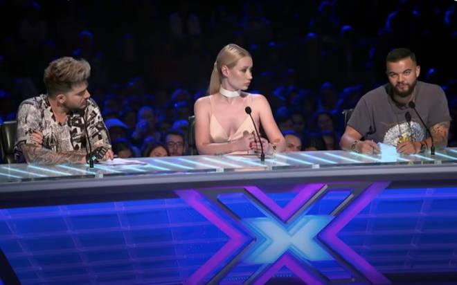 Adam's fellow judge, Australian singer Guy Sebastian turned to Adam and third judge Iggy Azalea and suggested a little duet between the pair.