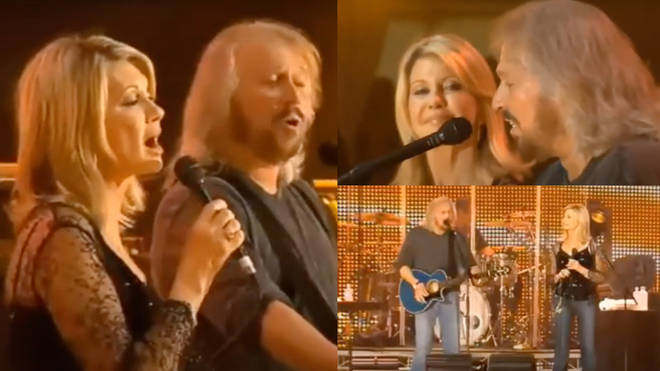 Olivia and Barry performed 'How Can You Mend A Broken Heart' in Australia at Sound Relief in 2009