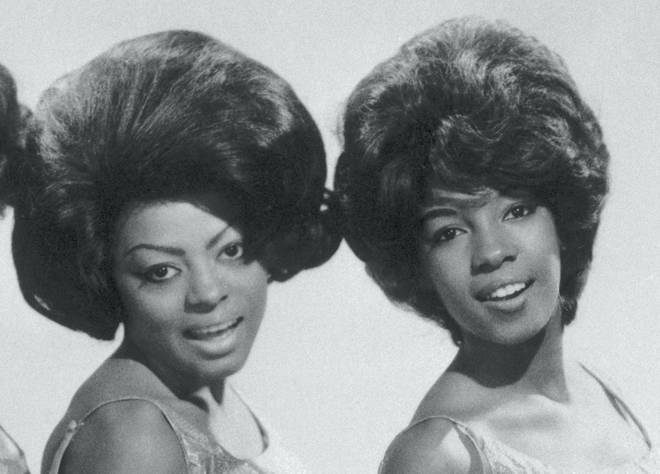 Diana Ross (left) has paid tribute to her former bandmate from The Supremes, Mary Wilson (right). Pictured c.1965.