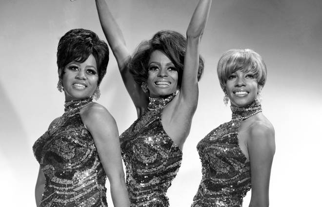 Diana Ross (centre) was part of The Supremes from their beginning in 1959 – when they were called The Primettes – to when she went solo in 1970. Right: Mary Wilson.
