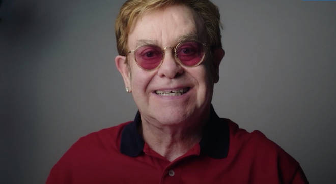 Sir Elton John has taken part in a new NHS video to encourage people to have the coronavirus vaccine.