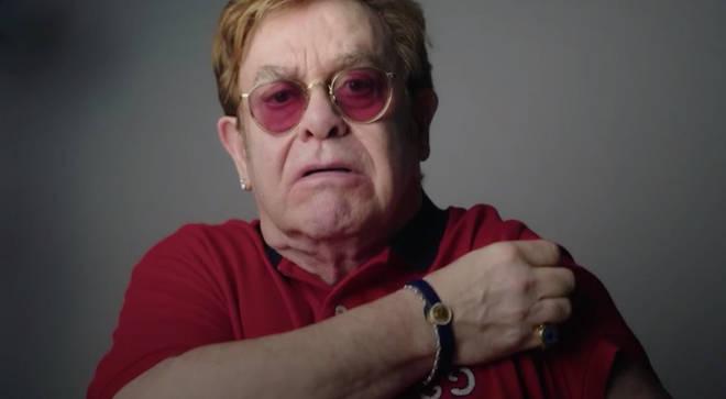 Elton John urges people to get coronavirus vaccine