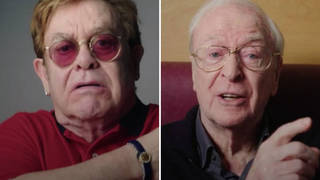 Elton John and Michael Caine urge public to get coronavirus vaccine in new NHS advert - video