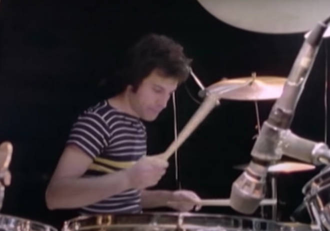 It is believed the footage is the only time Freddie can be seen tinkering with a drum kit during his time with Queen.
