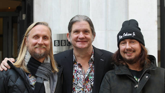 Roy Orbison's sons Alex, Wesley and Roy Jr in 2017