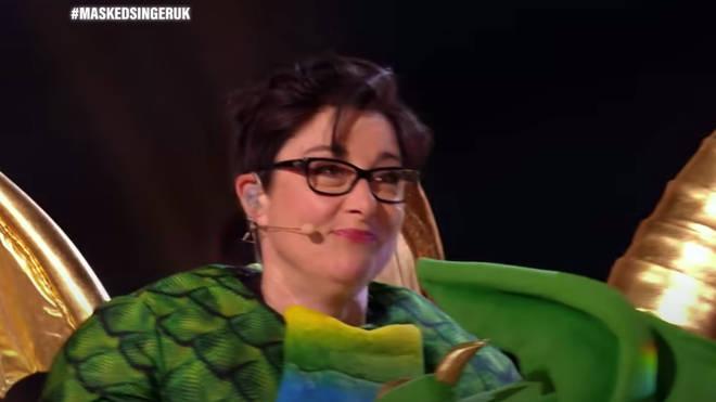 Sue Perkins is Dragon!
