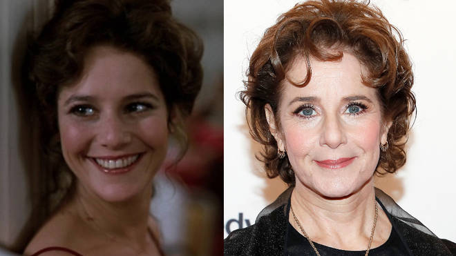 Debra Winger in 1982 and right, pictured at the Annual Kennedy Center Honors in 2019.