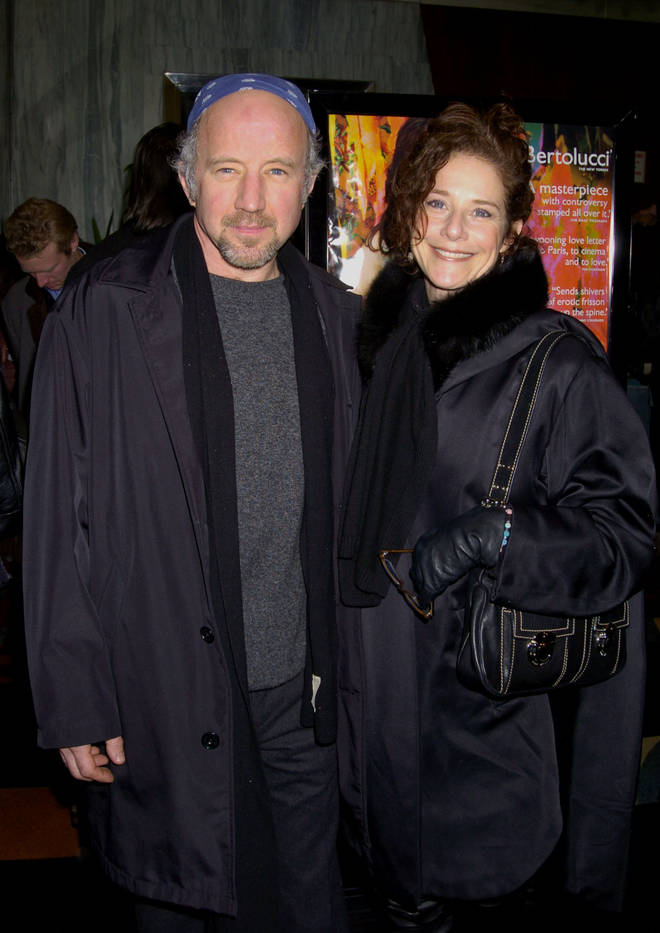 Debra Winger pictured with her actor husband Arliss Howard in 2004.