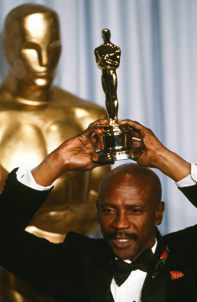 Louis Gossett Jr became an overnight star when his role as Sgt. Emil Foley in An Officer and a Gentleman earned him an Academy Award for Best Supporting Actor in 1982 (pictured).