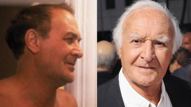 Actor Robert Loggia in 1982 and right, in 2012.