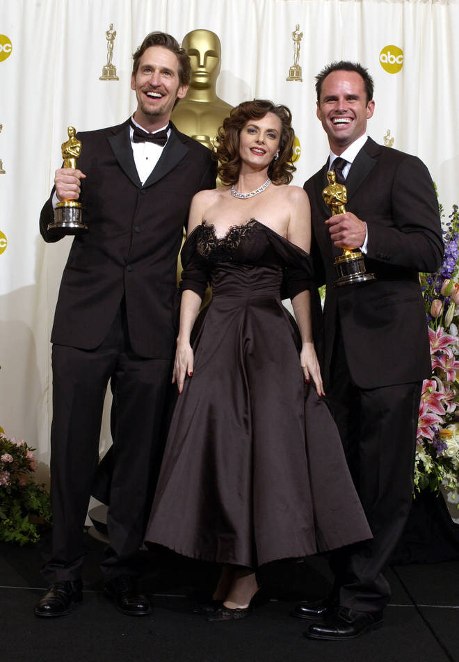 Alongside her husband Ray McKinnon (left) Lisa Blount won an Academy Award for Best Live Action Short Film for their 2001 film The Accountant.