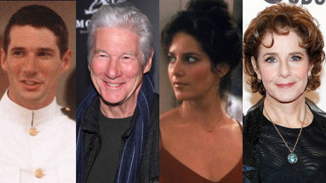 Richard Gere starred and Zack Mayo in 1982's An Officer and a Gentleman opposite Debra Winger as Paula Pokrifki.