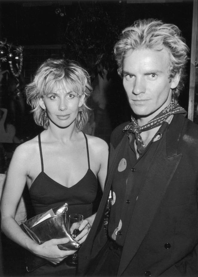 Sting And Trudie Styler in 1982
