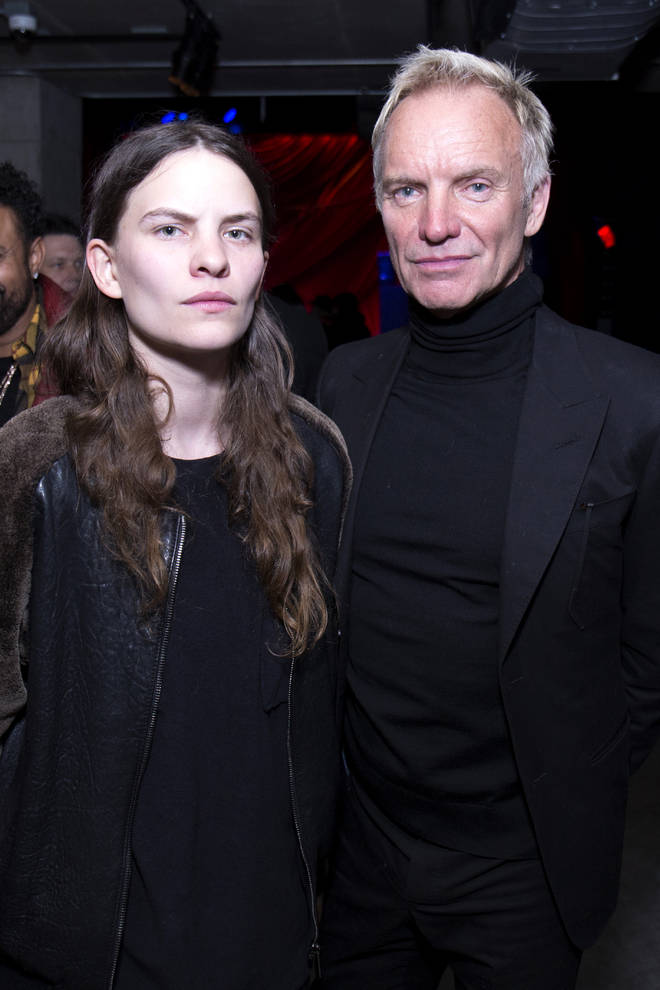 Sting and Eliot Sumner