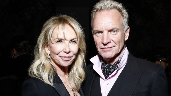 Sting And Trudie Styler in 2018
