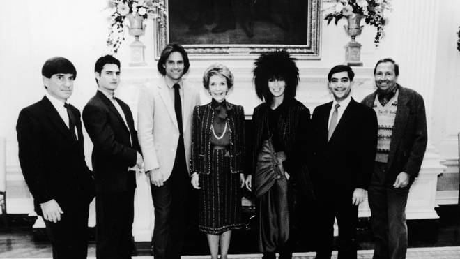 Tom Cruise and Cher attended a White House event in 1985