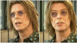 David Bowie was being interviewed by Jeremy Paxman in 1999 when he was filmed telling the skeptical interviewer the future internet's impact on society would be 'unimaginable'.