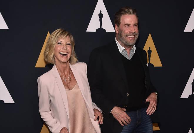 Olivia Newton-John and John Travolta in 2018