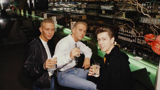 Bros in 1990