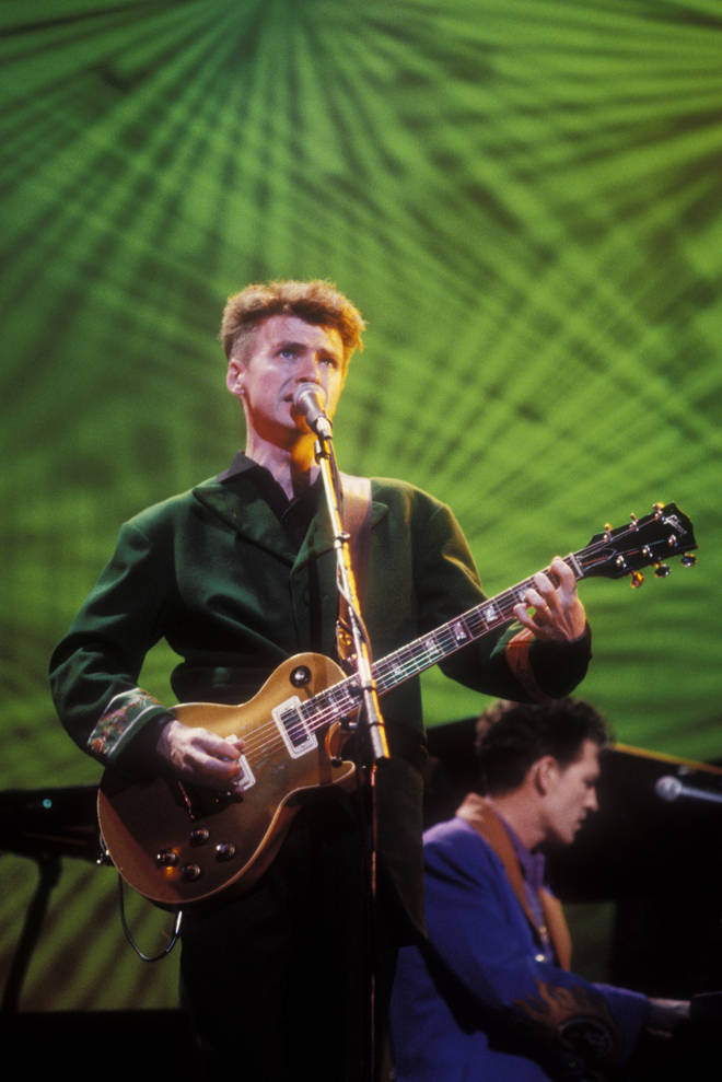 The new album, Dreamers Are Waiting is set to feature last year's single 'Whatever You Want', the first new material from the group since their 2010 album 'Intriguer'. Pictured, Neil Finn.