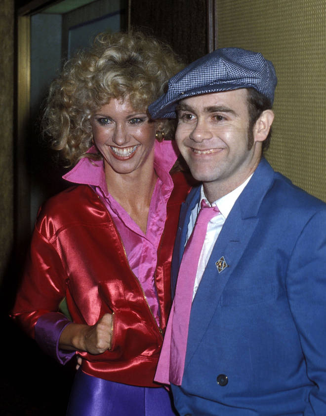 Elton John and Olivia Newton-John have nurtured a great friendship in the years since they first sang together. Pictured in 1978 at the Grease premiere party.