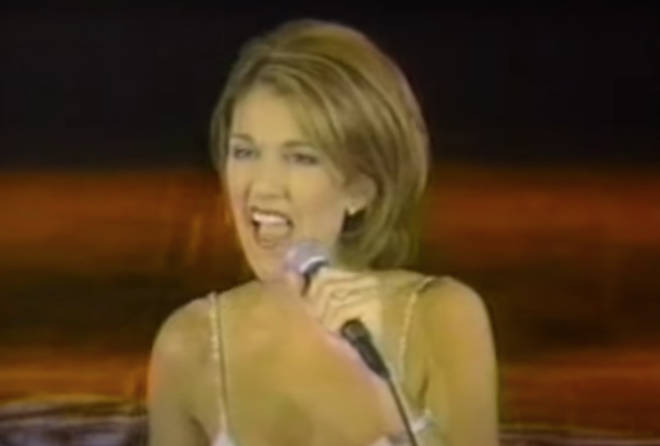A 28-year-old Celine Dion proceeds to give a flawless performance of 'Because You Loved Me'.