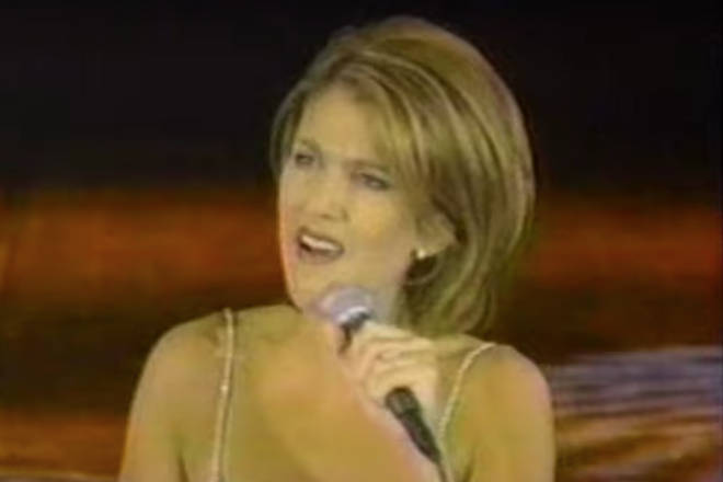 The World Music Awards were founded in 1989 by Prince Albert of Monaco. Pictured Celine Dion in 1996.