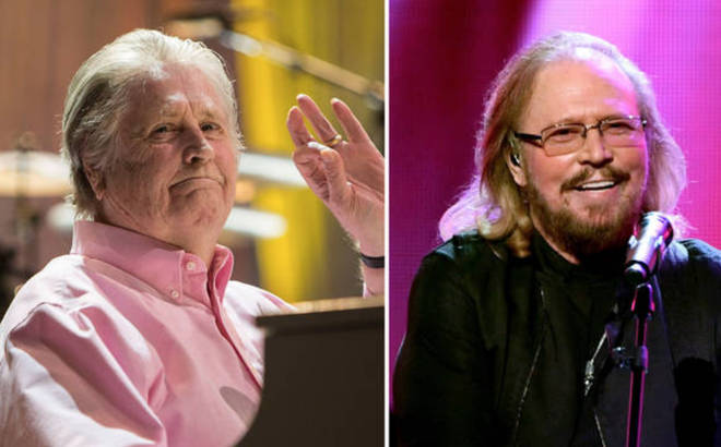 Brian Wilson and Barry Gibb may make some music together