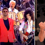George Michael performed with Queen at Freddie Mercury's tribute concert in 1992