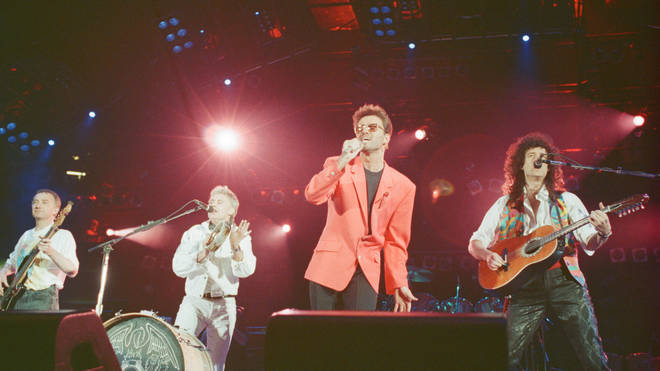 George Michael with Queen