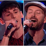 On February 20, Olly Murs' contestants Joe Topping (centre) and Alex Harry (left) took to the stage for the Battles round of The Voice UK and gave a stunning rendition of Celine Dion's 'Think Twice'.