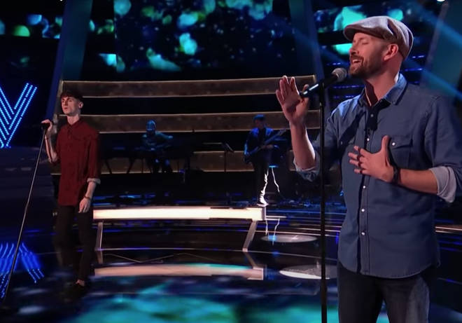 Competing for a place in Olly's final team, 42-year-old Joe and 27-year-old Alex gave a spectacular performance of the number one song