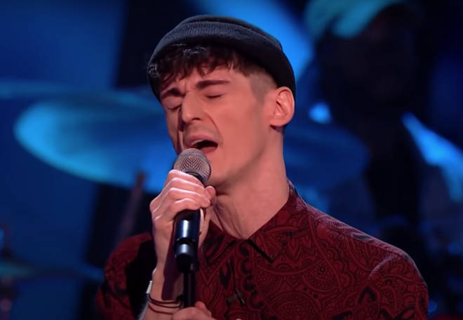 27-year-old Alex Harry (pictured) was competing to go through to the next round of The Voice 2021.