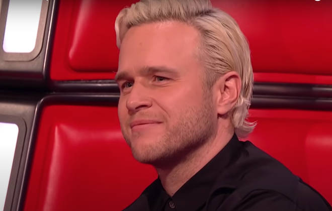 Olly Murs looked on proudly as his two contestants battled it out for a place in the next round.