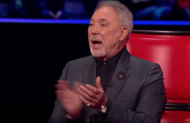 The duo's stunning rendition resulted in a standing ovation from none other than Sir Tom Jones himself.