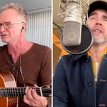 Gary Barlow and Sting team-up for a fantastic Squeeze cover duet in latest Crooner Sessions video