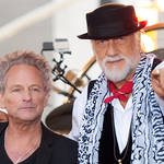 Mick Fleetwood (right) has reconciled with ex-bandmate Lindsey Buckingham (left), he revealed in a Rolling Stone interview