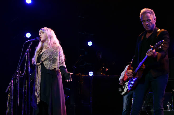 Stevie Nicks and Lindsey Buckingham perform onstage at MusiCares Person of the Year honoring Fleetwood Mac at Radio City Music Hall on January 26, 2018