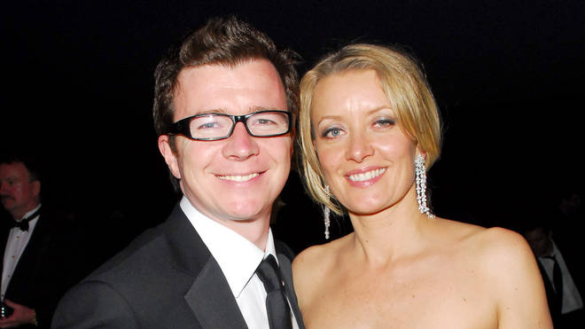 Rick Astley and wife Lene Bausager