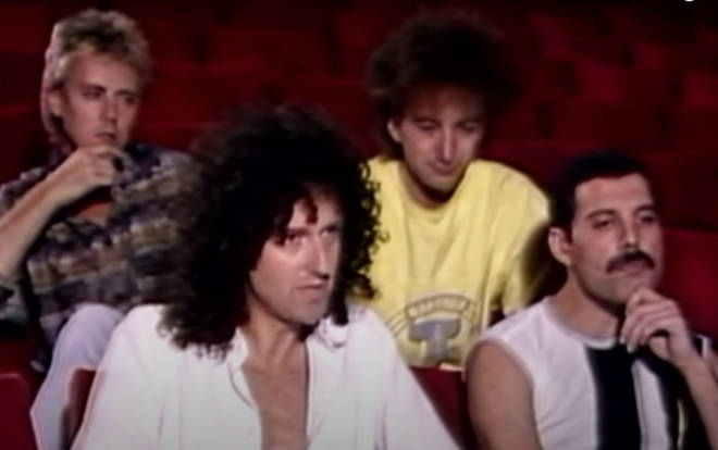 Queen sat down to give an interview before Live Aid in 1985.