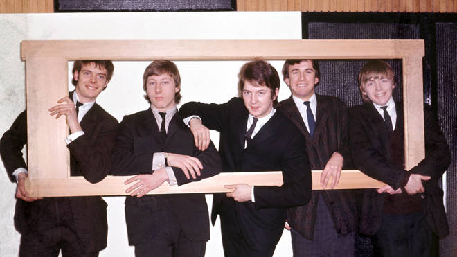 Yardbirds With Eric Clapton (middle)