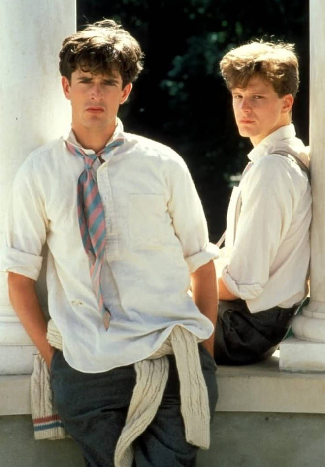Colin Firth and Rupert Everett starred in 'Another Country' (pictured) in 1984.