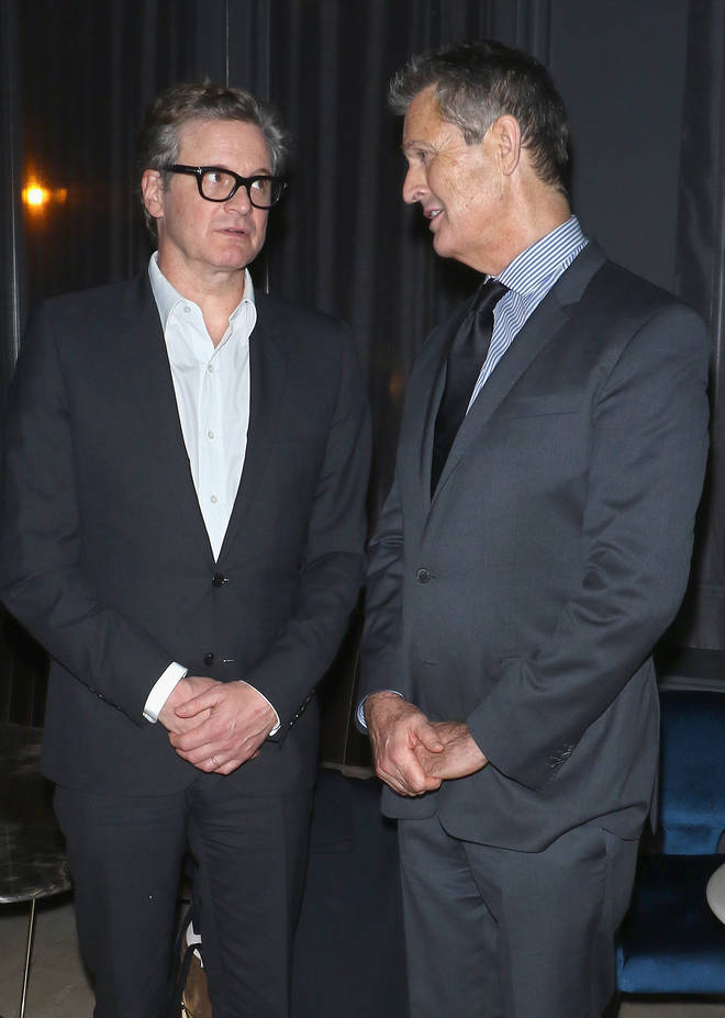 Rupert Everett has spoken of his decades-long feud with co-star Colin Firth. The pair pictured in 2008.