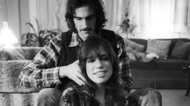 James Taylor and Carly Simon in 1971