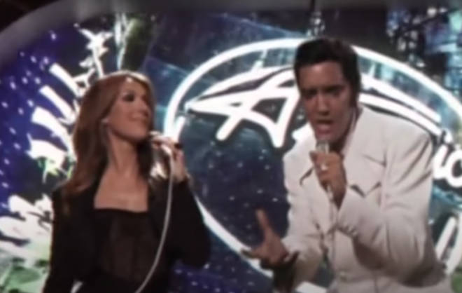 Elvis Presley stunned the world when he walked out on stage to join Celine Dion on American Idol in 2007.