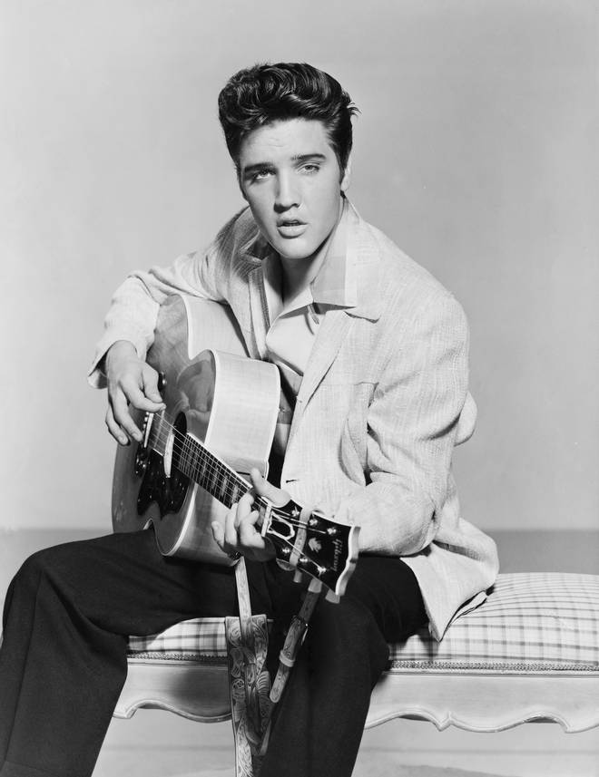 The American Idol footage came 30 years after Elvis Presley's untimely death 30 years after his untimely death in 1977 at the age of 42.
